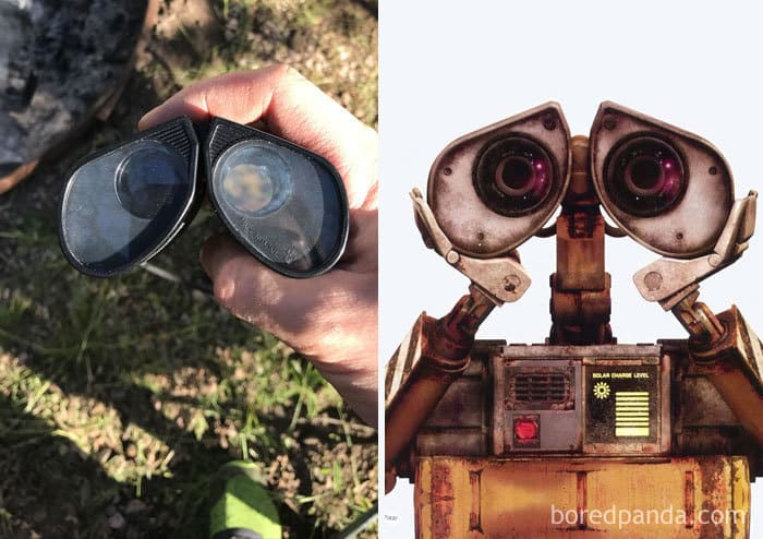 My Binoculars Look Like Wall-E