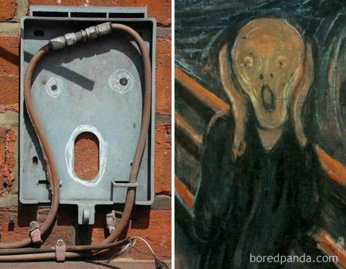 This Electric Cable Looks Like Famous Edvard Munch