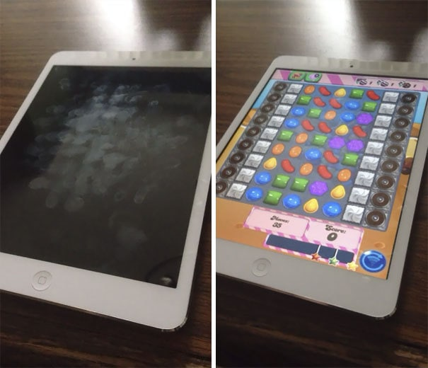 Fiancée Said She Needed An Ipad For Work Purposes. Her Fingerprints Prove Otherwise