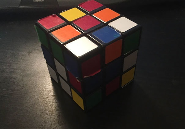 As A Colorblind Man, I Have Always Been Told I Can Never Solve A Rubik