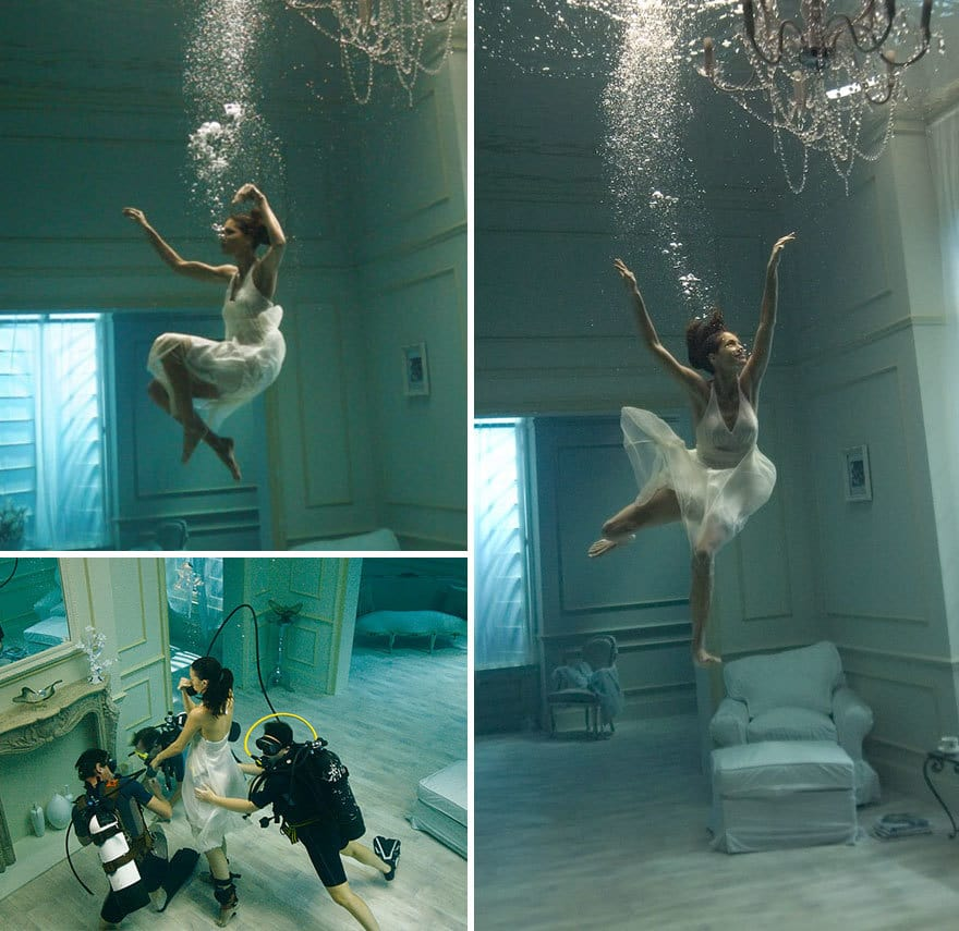 Underwater Photoshoot