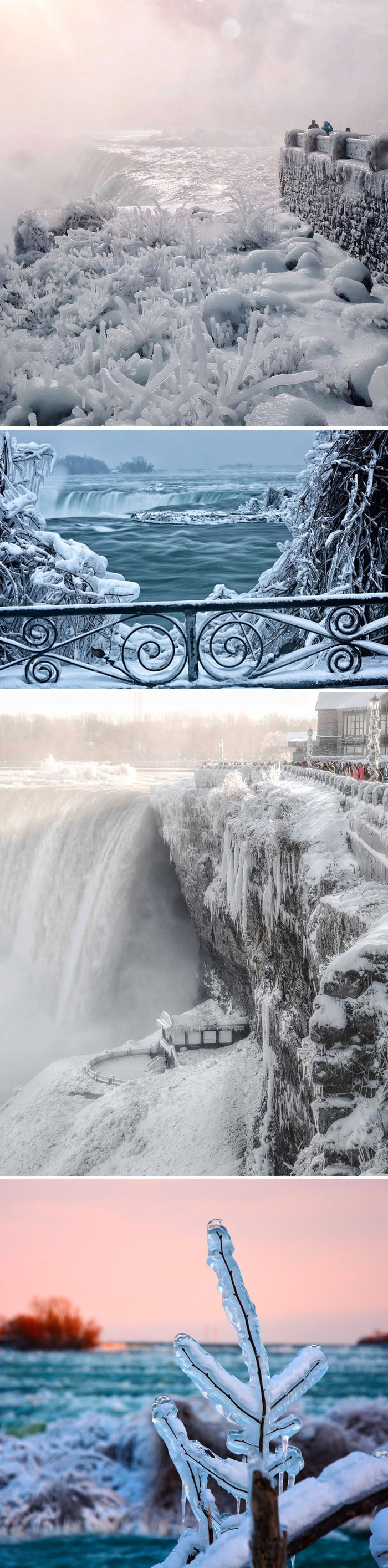 Niagara Falls Is Frozen