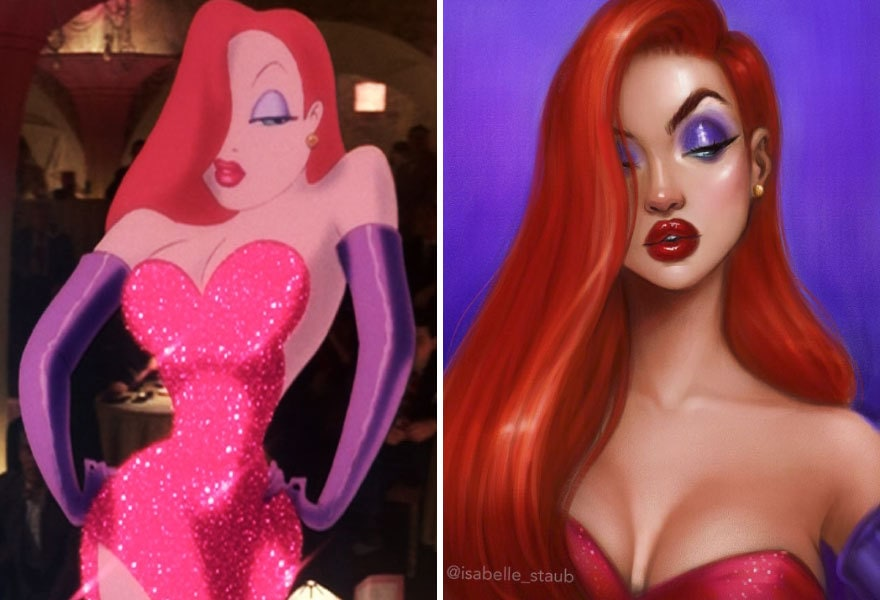 Jessica Rabbit, Who Censored Roger Rabbit?