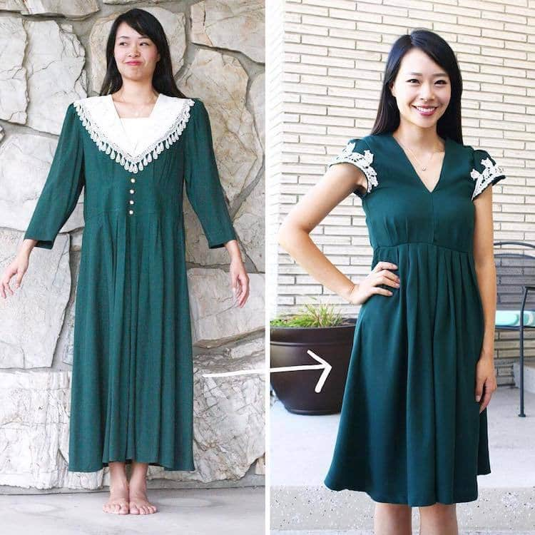 diy thrift store clothes