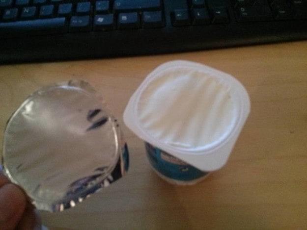 And this heavenly yogurt: