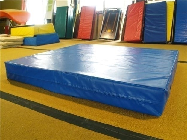 "The ""thump"" of the big mat when you had to fetch it from the gym wall."