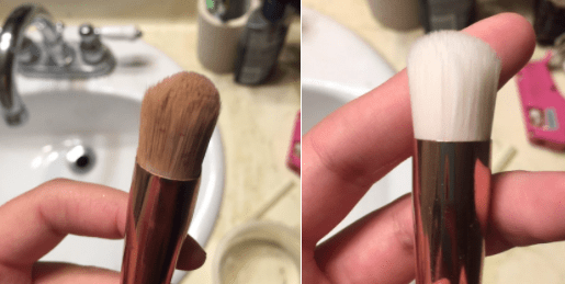 This outstanding makeup brush.