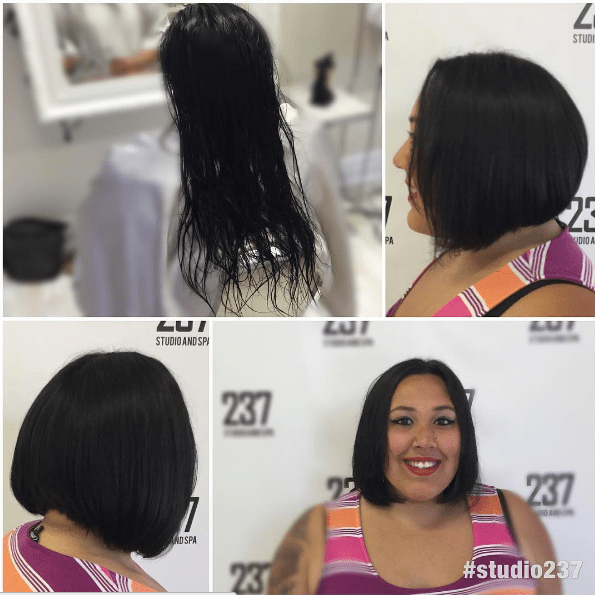 This beautiful bob.
