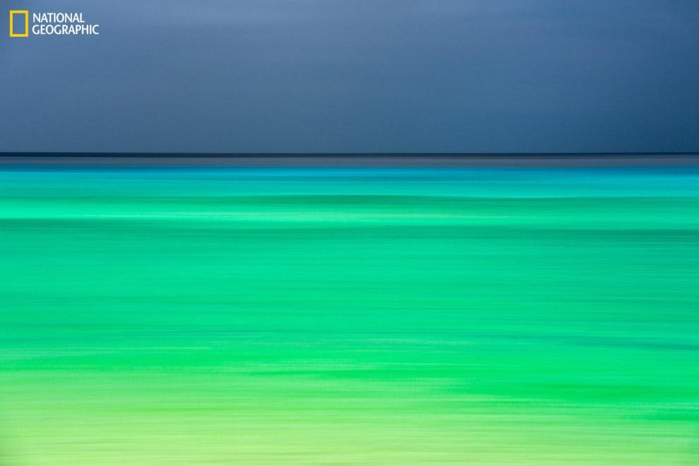 A photo that looks like a Rothko Painting, taken in Kaua