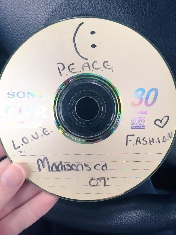Spending hours crafting the perfect mix CD.
