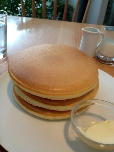 These flawless pancakes: