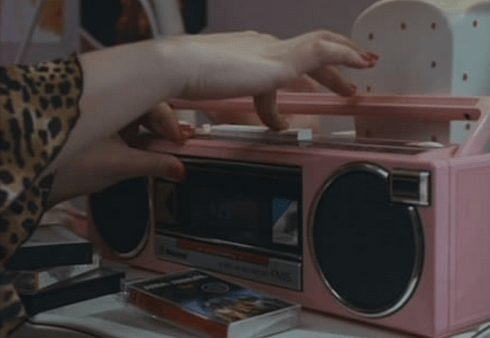 Recording your favourite songs by sitting quietly around a radio.