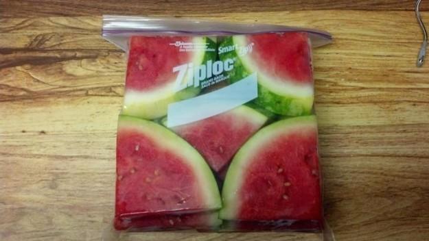 This ergonomic watermelon: