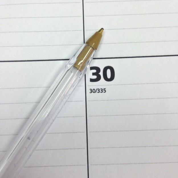This completely finished pen.