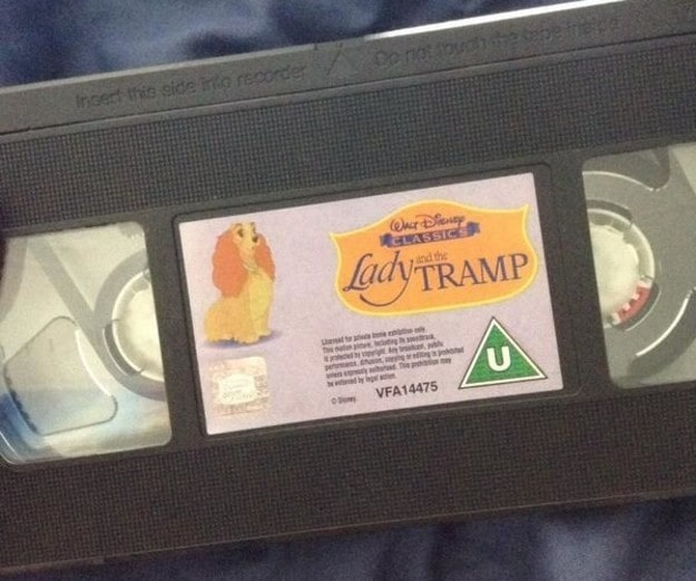 Having to rewind the entire film on VHS before being able to watch it.