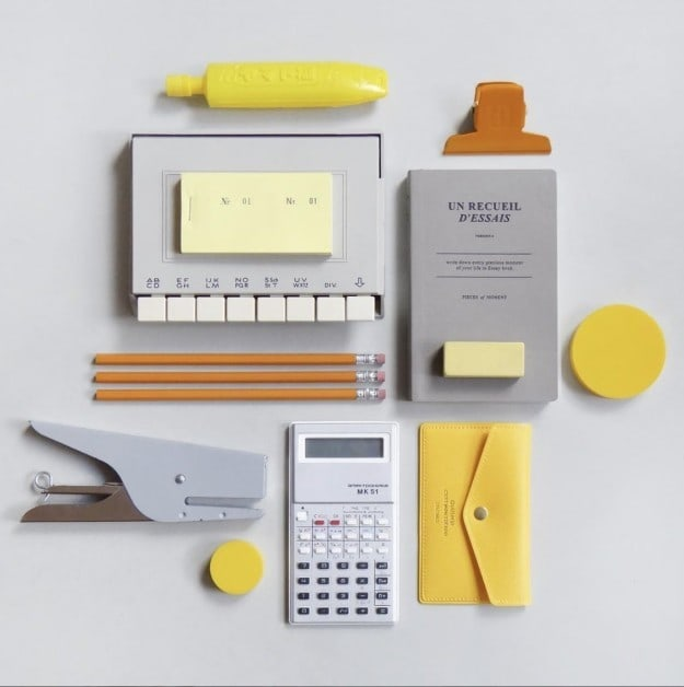 This fancy stationery set.