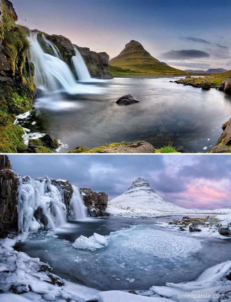 Kirkjufell Pool, Iceland