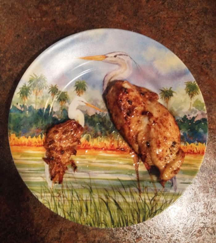 My Chicken Breast Fit Perfectly With The Birds On My Plate