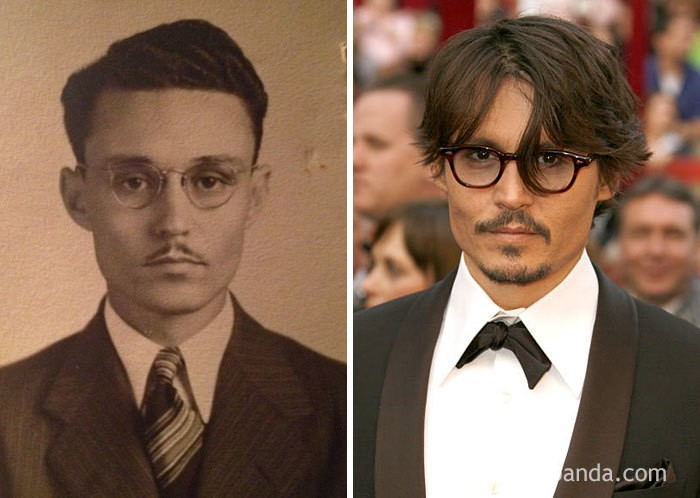 My Great Grandfather Looks Just Like Johnny Depp