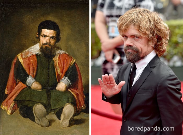 Spanish Painter Diego Velazquez (1599-1660) And Peter Dinklage