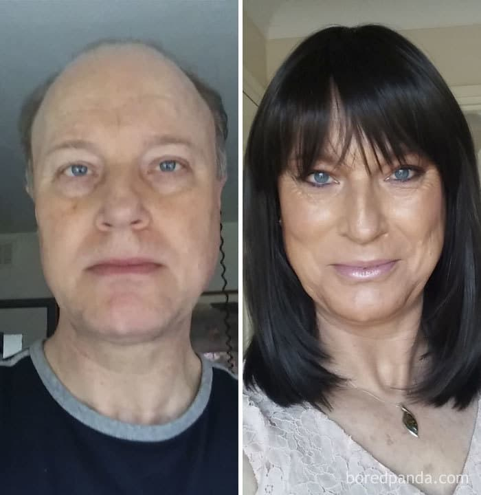 Another Comparison As To What Hormones Can Do, Even When Your An Older 49-Year-Old Lady Like Me