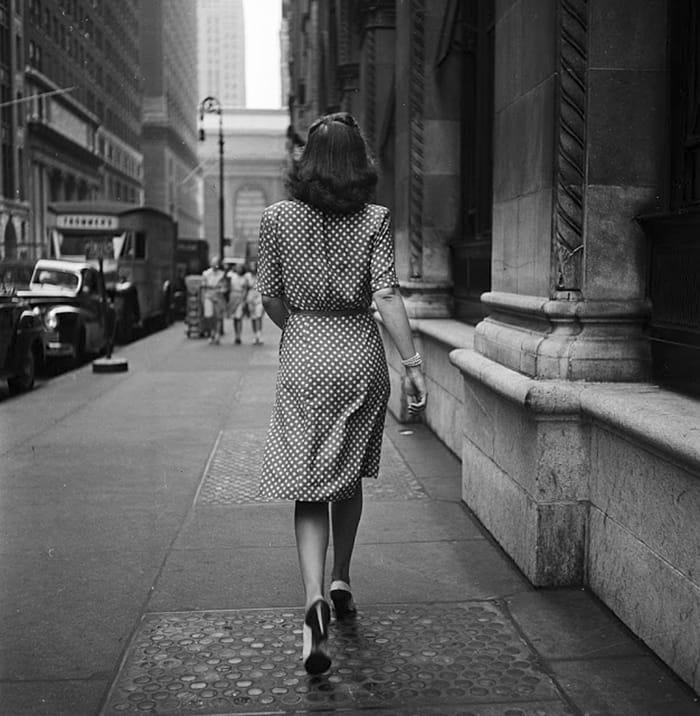 Прогулка по улицам Нью-Йорка, 1946
