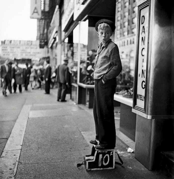 Чистка Shine Boy, 1940