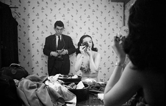 Автопортрет с девицей Розмари Уильямс, 1948