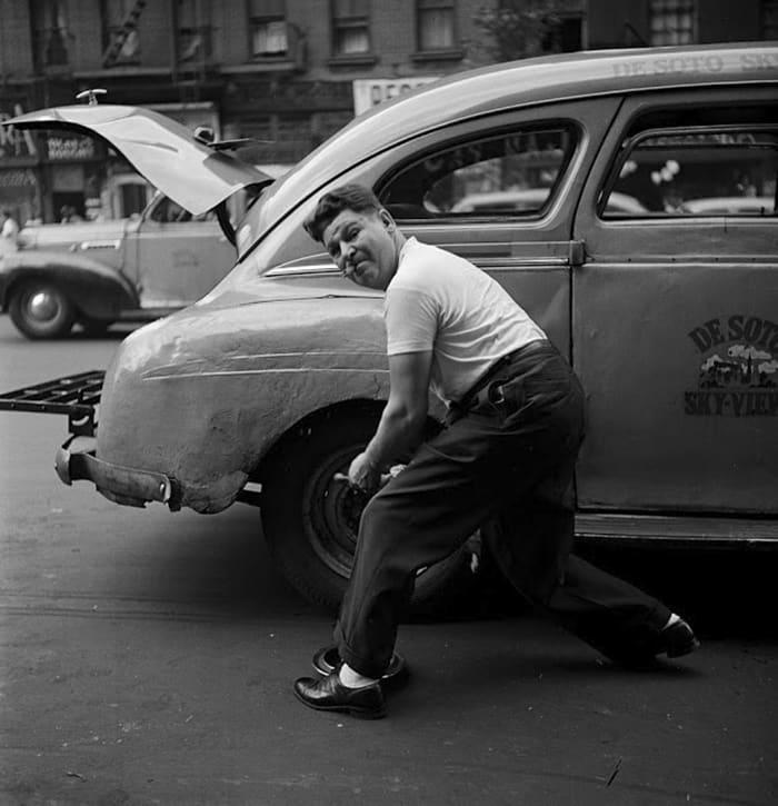 Изменение шин, 1946