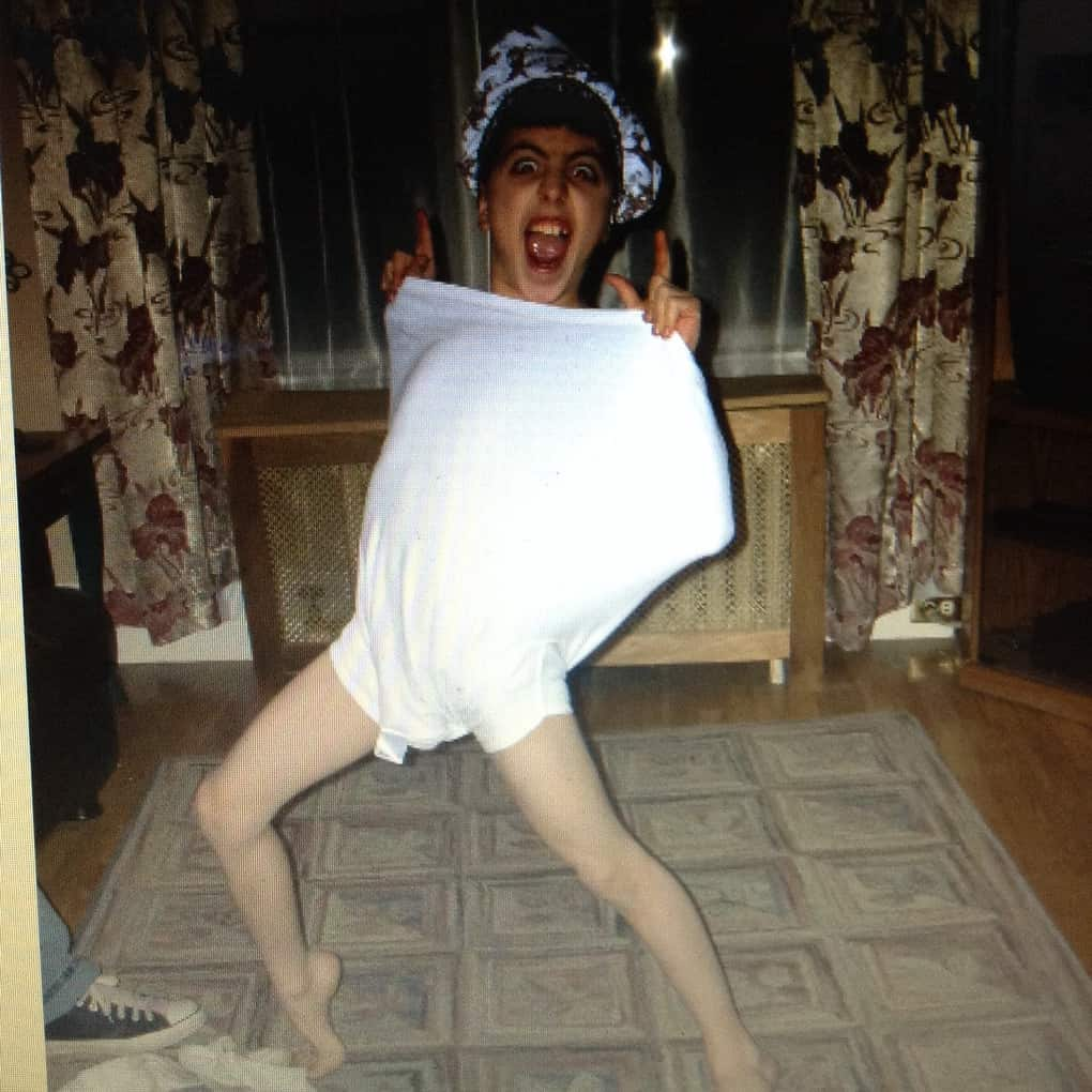 Found this while looking though old pics. I was a weird kid.