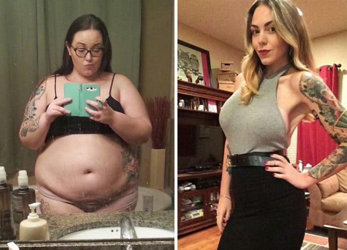 This Girl Was An Alcoholic, But Managed To Lose 165 Lbs After Quitting Alcohol