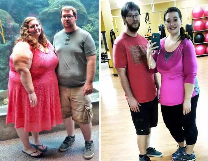 Couple Who Weighed 770 Lbs Have Lost Half Their Body Fat In 1 Year
