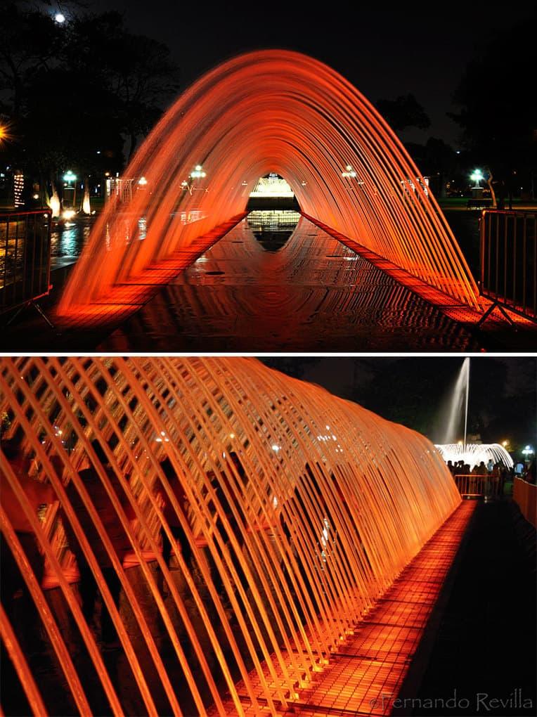 "Fountain ""Tunnel Of Surprises"", Lima, Peru"