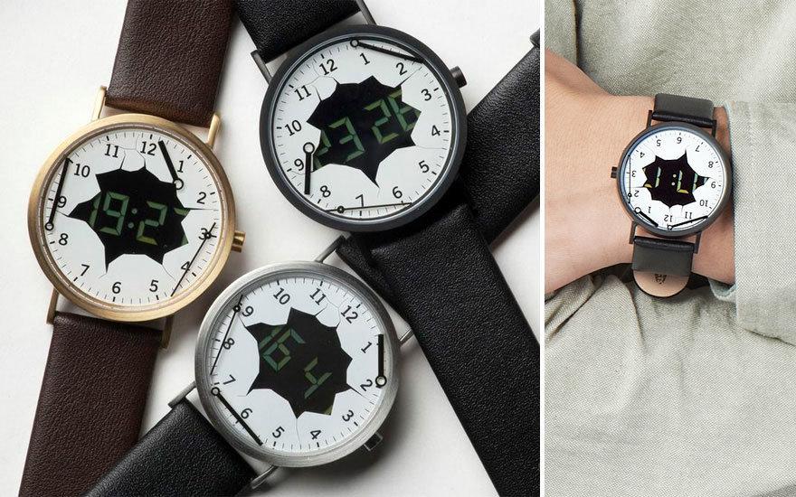 Необычные наручные часы в - Tiuru