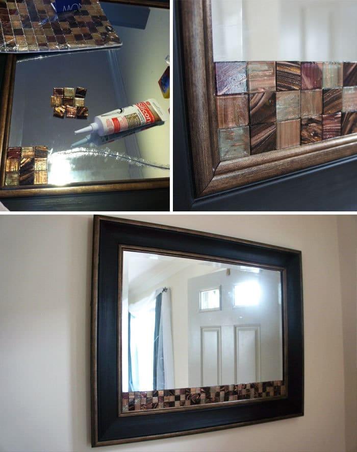 замаскировать трещину в зеркале фото последней фотке слева