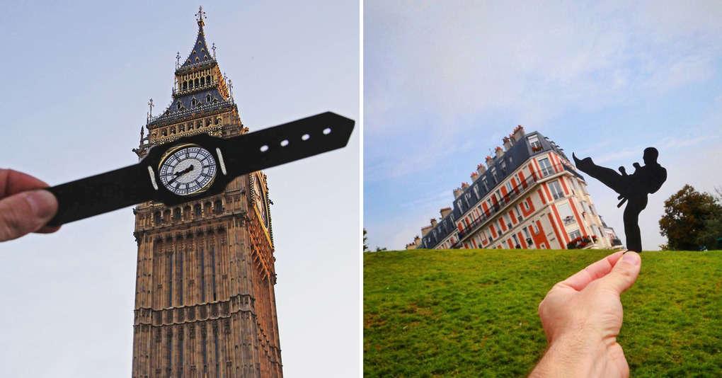 Британский фотограф предлагает иначе взглянуть на известные достопримечательности
