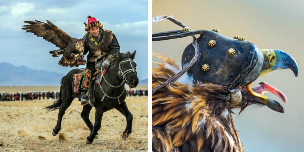 Эпический фестиваль «Золотой орёл» в Монголии