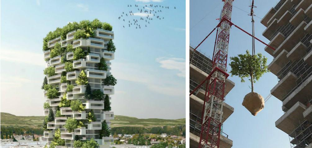 В Швейцарии скоро построят небоскрёб-сад
