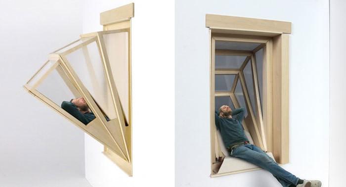 Окно-трансформер, которое превращается в балкон
