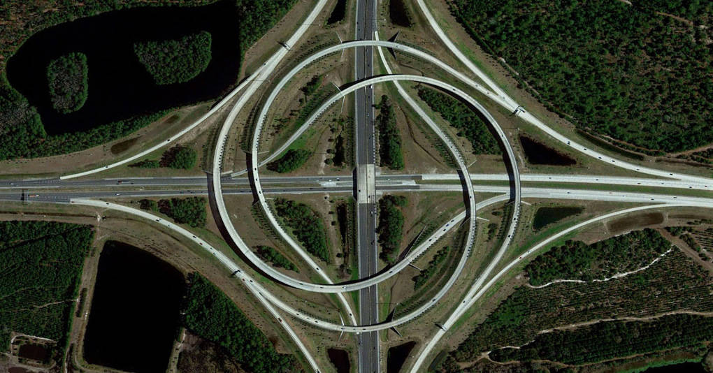 20 фотографий Земли со спутника, которые поражают воображение