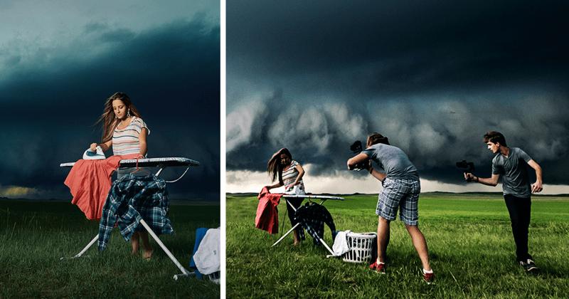 Эта девушка убедила своего парня поучаствовать в погоне за ураганом