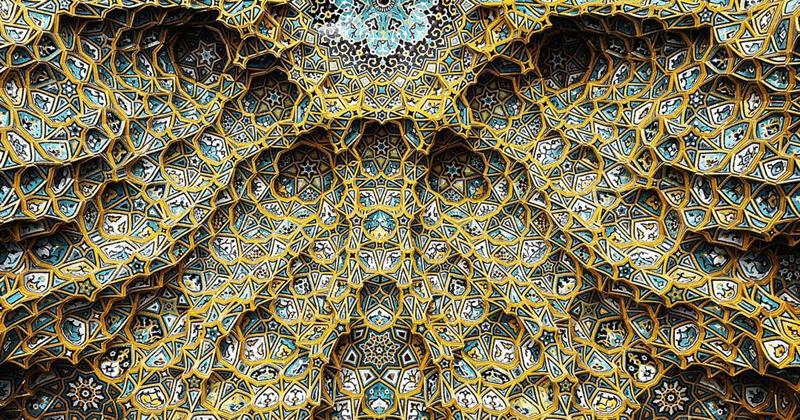 Гипнотизирующая красота сводов иранских мечетей