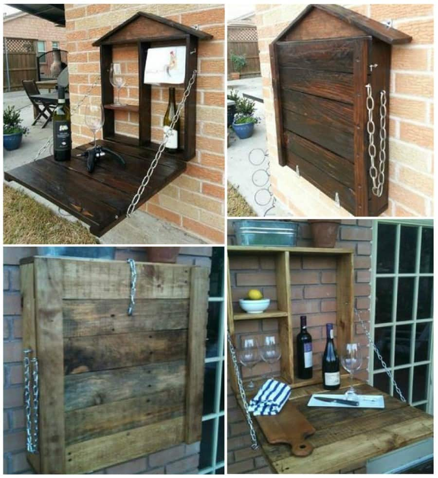 Pallet-Fold-Down-Wine-bar-wonderfuldiy