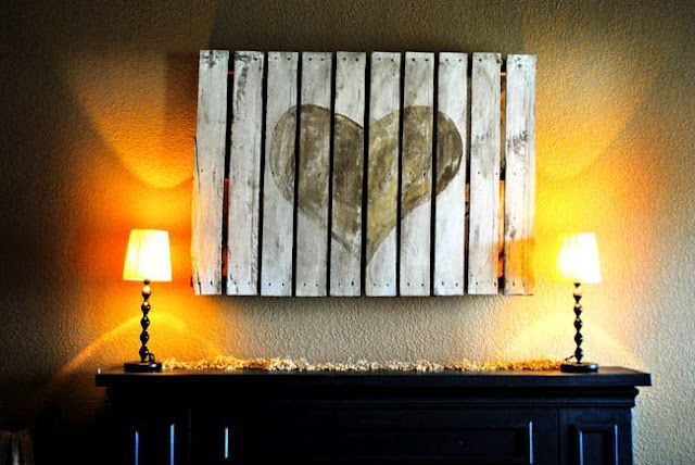 pallet wall art-wonderfuldiy