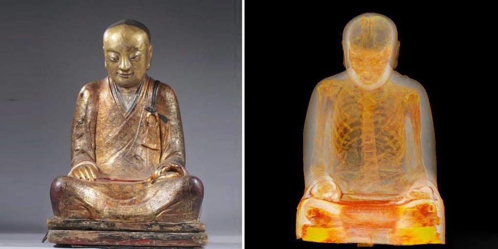 Отсканировав 1000-летнюю статую Будды, ученые были потрясены