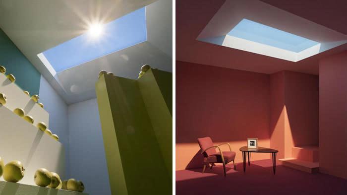 Кажется, это просто окно в потолке, но вы удивитесь, узнав, что это на самом деле