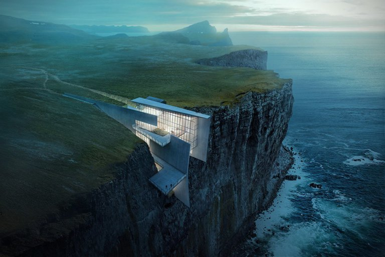 This Cliffside Retreat in Iceland Takes Ocean Views to the Next Level Credit: Alex Hogrefe