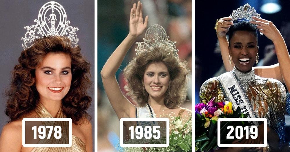 Подведены итоги конкурса «Мисс вселенная-2019», и вот как выглядели обладательницы этого титула с 1952 года