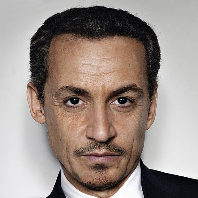 Johnny Depp mixed with Nicolas Sarkozy