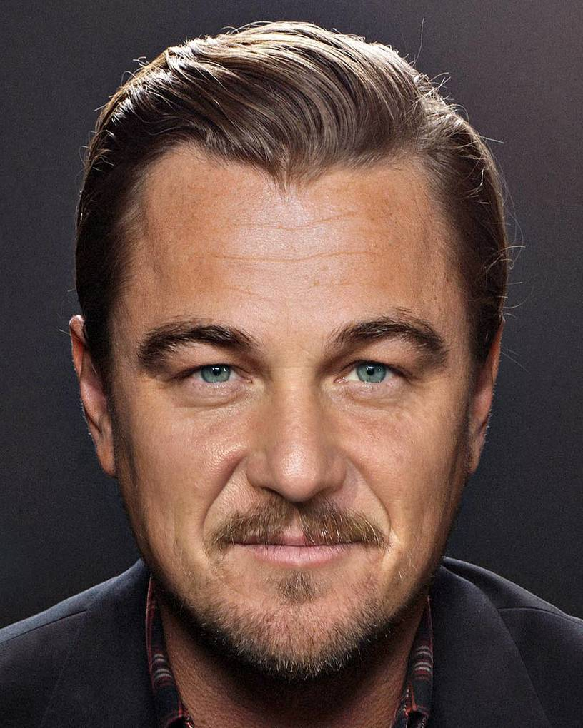 Sean Penn mixed with Leonardo DiCaprio